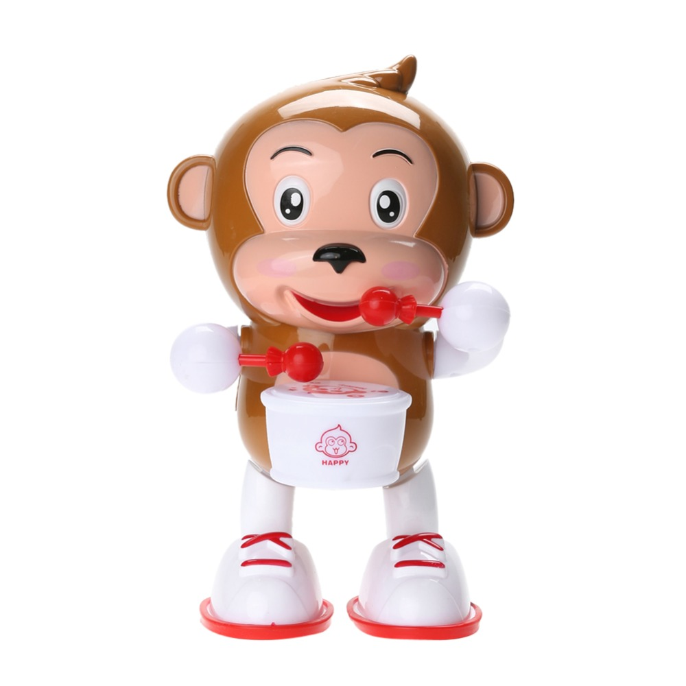 Baby Kids Electric Dancing Monkey Musical Toy with Flashing LED Light Baby Kid Educational Developmental Music Toy Gift FCI#(China (Mainland))