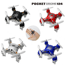 Mini Drones 6 Axis Rc Dron FQ777-124 nano Quadcopters Professional Drones Flying Helicopter Remote Control Toys hexa Copter(China (Mainland))