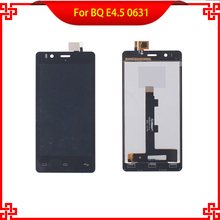 LCD Display Touch Screen Digitizer Assembly For BQ Aquaris E4.5 0631 100% Guarantee Mobile Phone LCDs Free Tools Gift