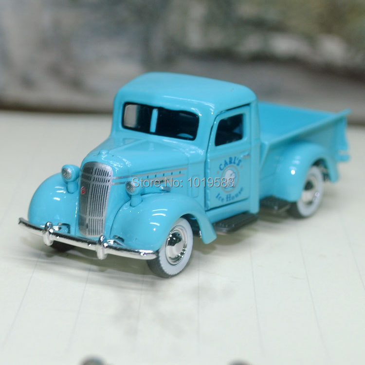 (10pcs/pack) Wholesale 1/64 Scale Car Toys Mack Jr. USED UNDER LICENSE Pick-up Truck Diecast Metal Car Model Toy -Free Shipping(China (Mainland))