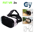 FIIT VR 2N Virtual Reality 3D VR Glasses Headset Google Cardboard fit for 4 0 to