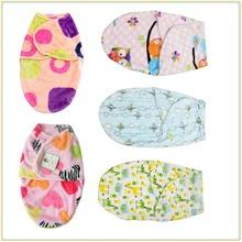 New! Farley velvet baby blanket  winter newborn baby sleeping bag cartoon pattern envelope coated baby infant 0-4 months A1