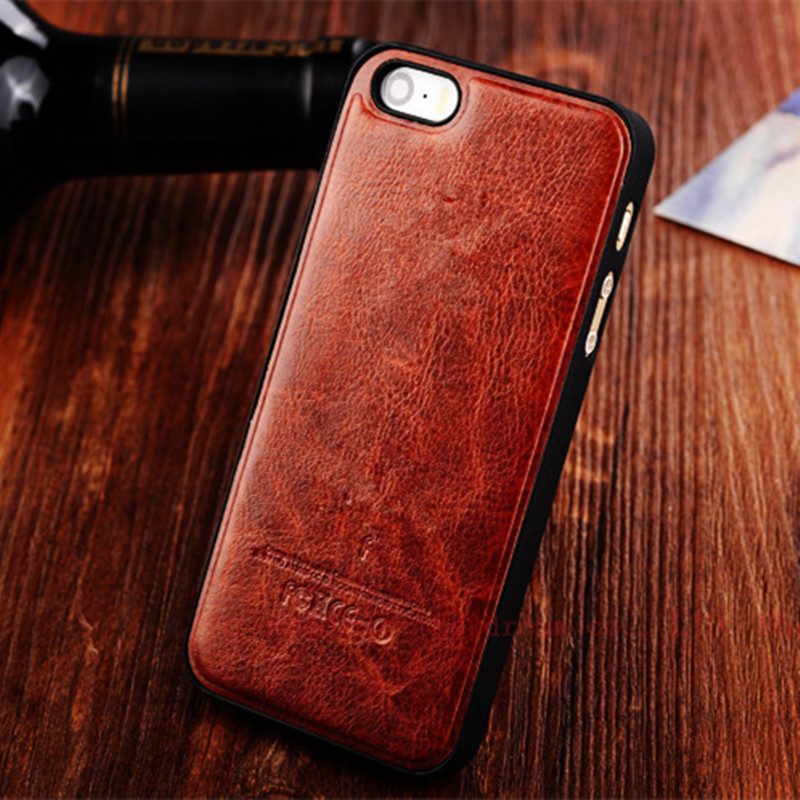 with LOGO original Genuine leather case For iphone 4 4S brand best quality mobile Phone Accessories For Apple LOGO Back cover(China (Mainland))