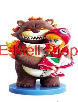 Cosplay LOL Dark Child Annie 10cm/3.9'' Q Version PVC GK Model Action Figures Toys Garage Kits(China (Mainland))