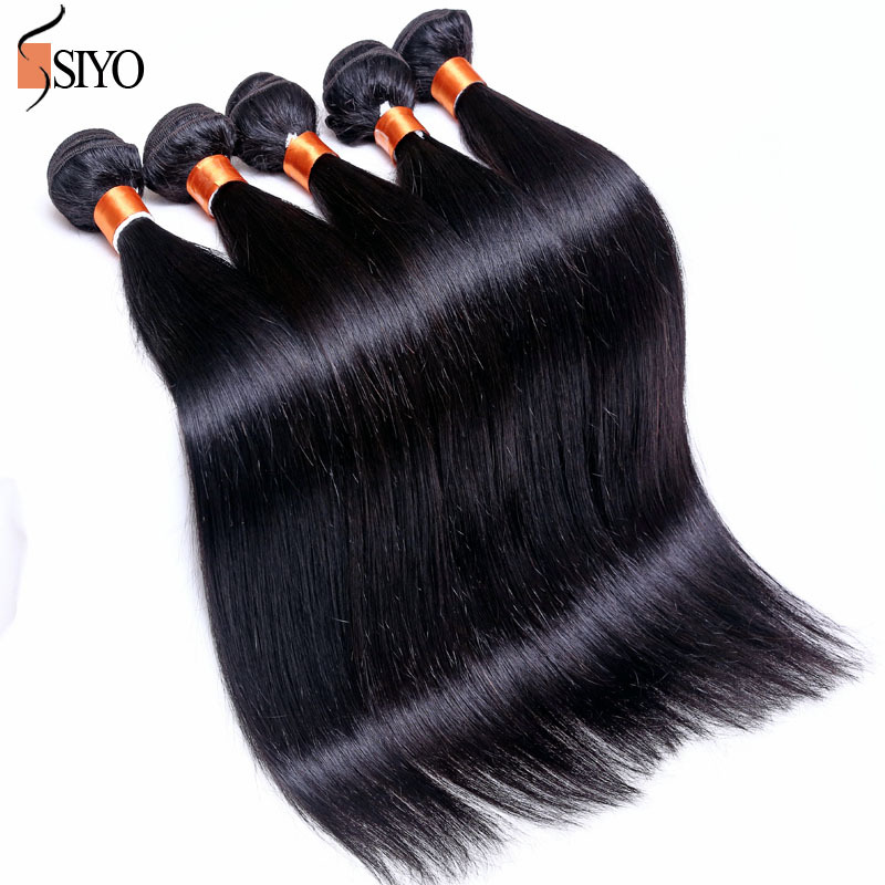 No smell 1 bundle wet and wavy virgin brazilian hair 7A unprocessed remy human hair weave brazilian hair weave bundles straight