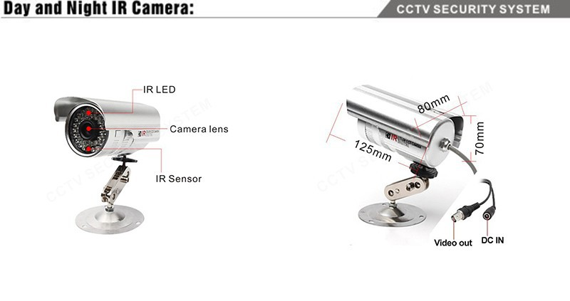 teate 8ch ir surveillance kit home security network hdmi 1080p dvr nvr video recorder cctv
