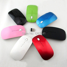 2.4G Wireless Optical Mouse Mice Cordless Mini Receiver for Computer Laptop Black/White KQ