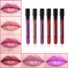 2015 Fashion Lip Gloss Lip Paint Lipstick Matte Velvet Waterproof Super Long Lasting Not Fade Hot Selling(China (Mainland))
