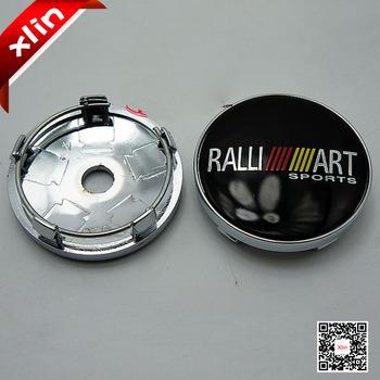 4pcs 60mm Mitsubishi RALLIART logo car emblem Wheel Center Hub Cap badge covers for LANCER PAJERO OUTLANDER ASX Galant Eclipse