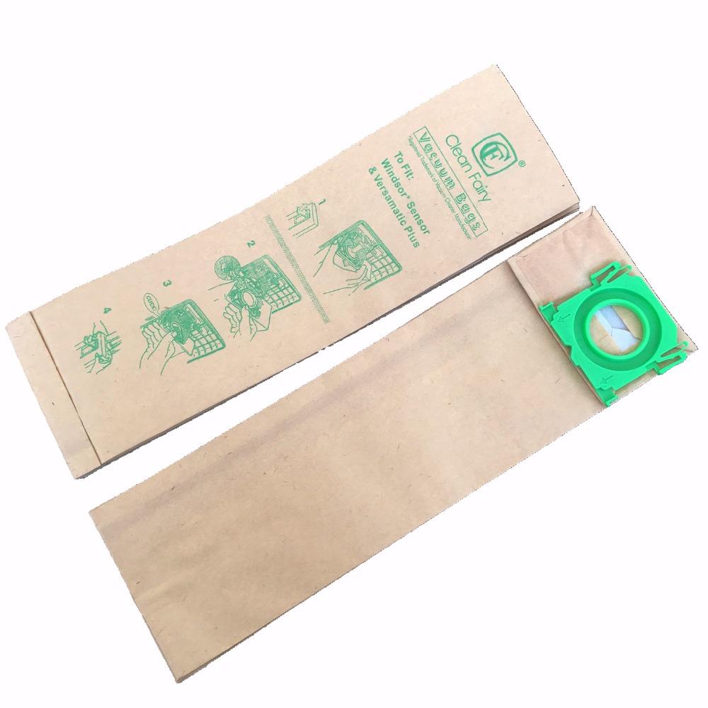 Free shipping Windsor Sensor, Versamatic Plus, Sebo & Kenmore 50015 Vacuum Cleaner Bags 3 Ply - 20 Pack(China (Mainland))