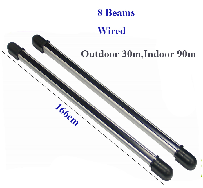 (Outdoor 30m,Indoor 90m) perimeter active infrared 8 beams available for sms alarm security system<br><br>Aliexpress