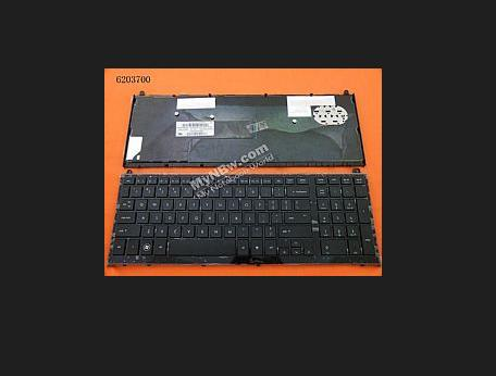 Фотография Laptop Keyboard For HP Probook 4510S 4515S    Black without frame EF Canada/England SN5092 SG-33200-23A
