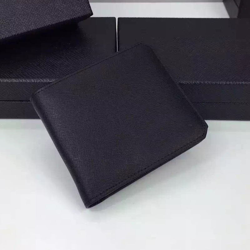2016 summer famous luxury brand men short bifold wallets genuine cow leather clutch purses card holder men's thin wallet 2M0513(China (Mainland))