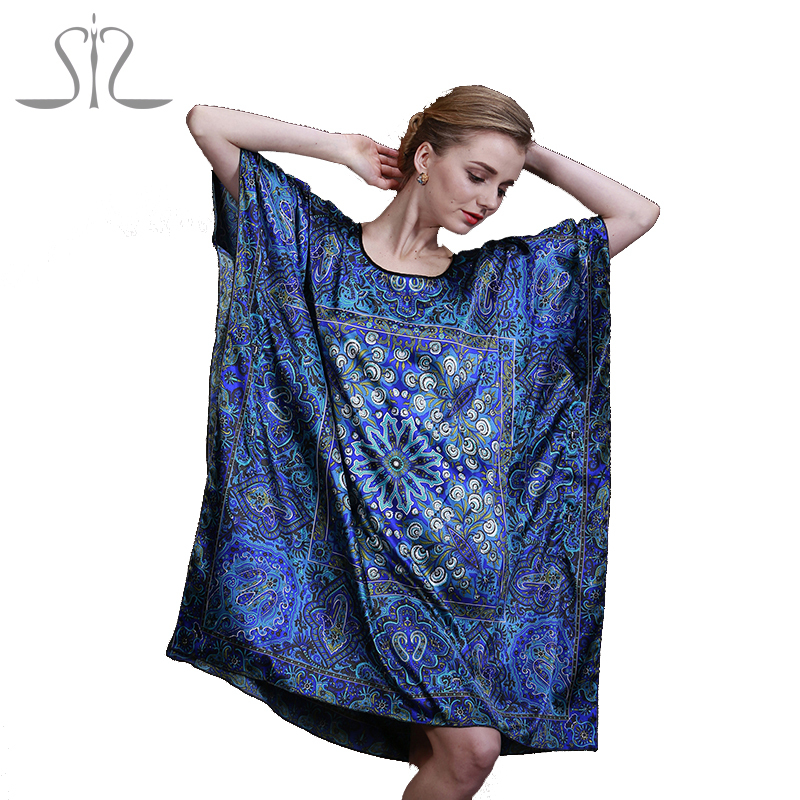 2015 Top Sale Summer Style Silk Indoor Clothing Women Pyjamas Women Nightgowns Of Home Clothing For Sleep 10011