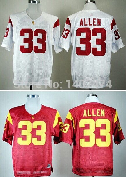 8c3d9adad4e Hot Selling 2014 New Design USC Trojans 33 Marcus Allen Jersey Red White