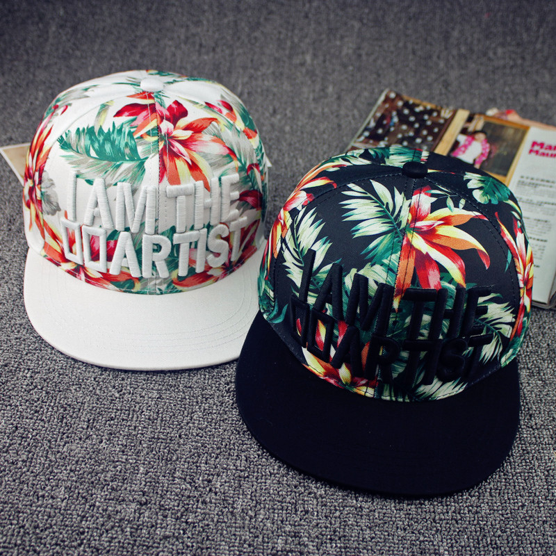 Floral Snapback Philippines 2015 New Floral Snapback Caps