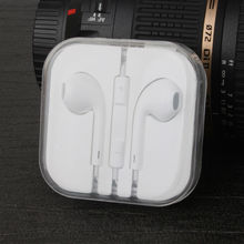 High Quality Stereo Headset Earphones handsfree Headphones with Mic 3.5mm Earbuds for All Mobile Phone Tablet for mp4 mp3 Player(China (Mainland))