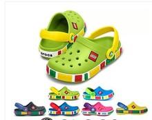 Envío gratis las sandalias de los bebés niños jardín zapatos chicos chicas Cro china sandalias del agujero, niños zapatillas de verano(China (Mainland))
