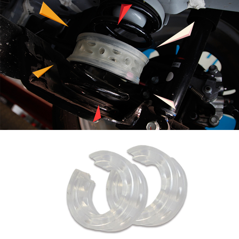 2015 Car Stylng Wholesale 2 Pcs / Lot Car Auto A-Type Shock Absorber Spring Bumper Power Cushion Buffer Special Free shipping<br><br>Aliexpress