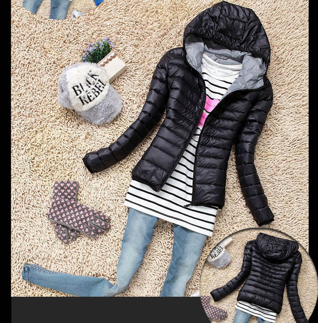 Cotton Hooded Women Jacket 2015 New Fashion Winter Thicken Casual Women Coat Slim Padded Outwear chaquetas mujerОдежда и ак�е��уары<br><br><br>Aliexpress