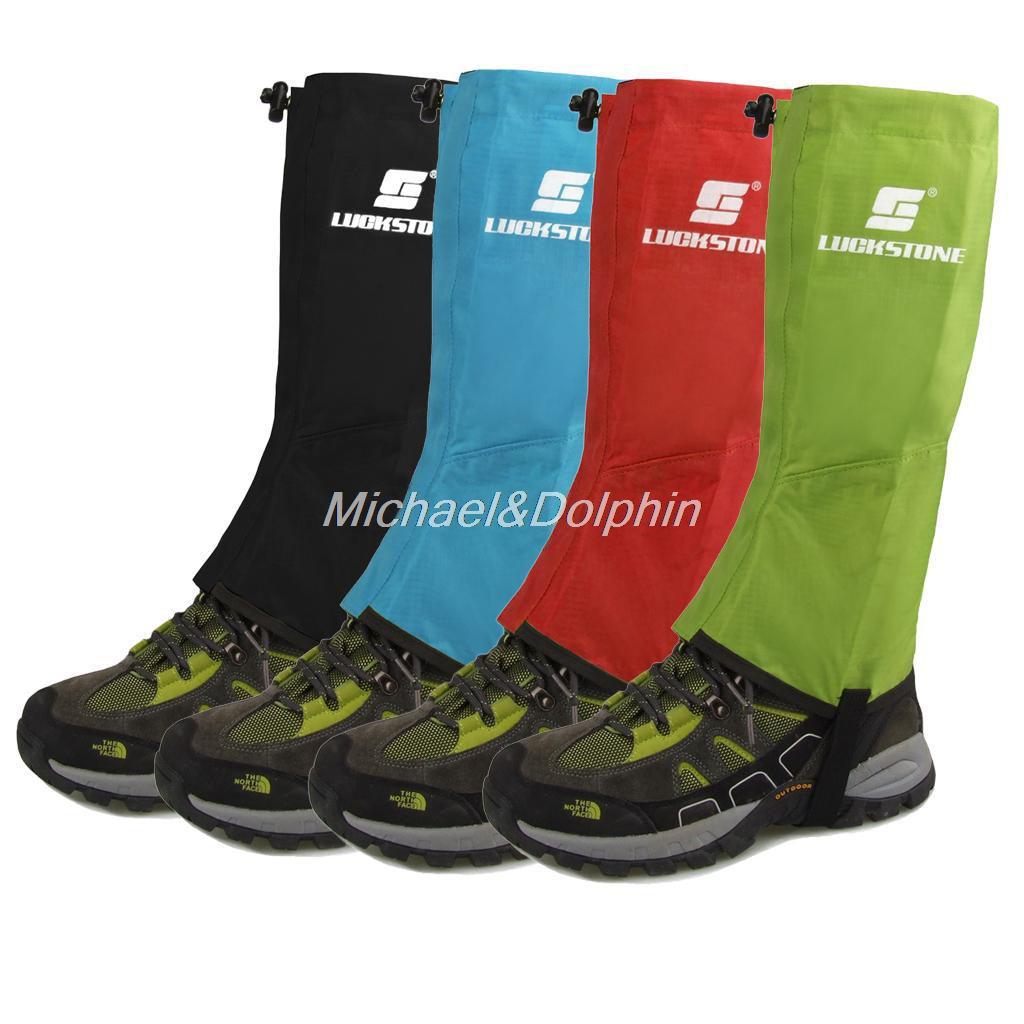 Free Shipping 1 Pair Waterproof Hiking Climbing Snow Legging Gaiters Leg Covers<br><br>Aliexpress