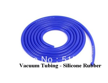 4mm Silicone Vacuum Tube Hose Silicon Tubing BLUE 1 Meter 1M 3.3FT