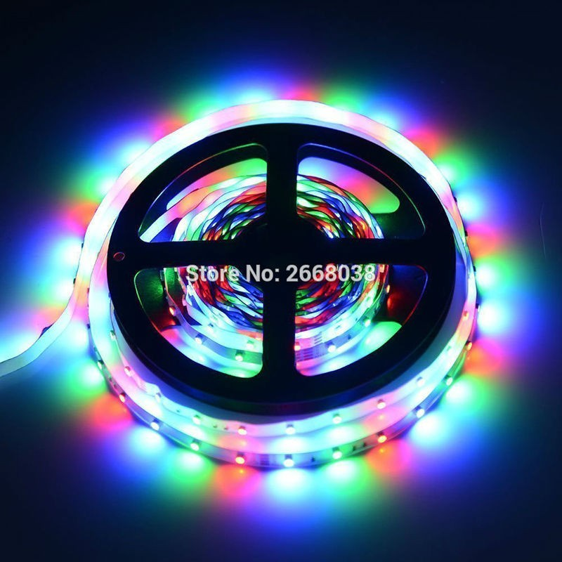 RUBAN-LED-PROFESSIONNEL-FLEXIBLE-60LED-M-3528-RGB-LED-Color-Changing-300-LED-flexible-strips-lighting