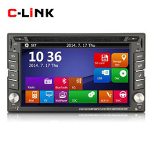 "2 Din Universal 6.2"" Touch Screen Car PC With Stereo Radio CD MP4 MP3 Video Player GPS Navigation Bluetooth Free Map Free Card(China (Mainland))"