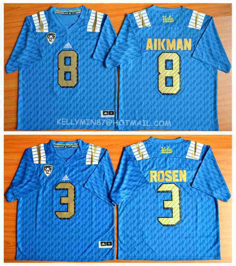2016 new arrivals,high quality,UCLA Bruins,Troy Aikman,Josh Rosen,camouflage(China (Mainland))