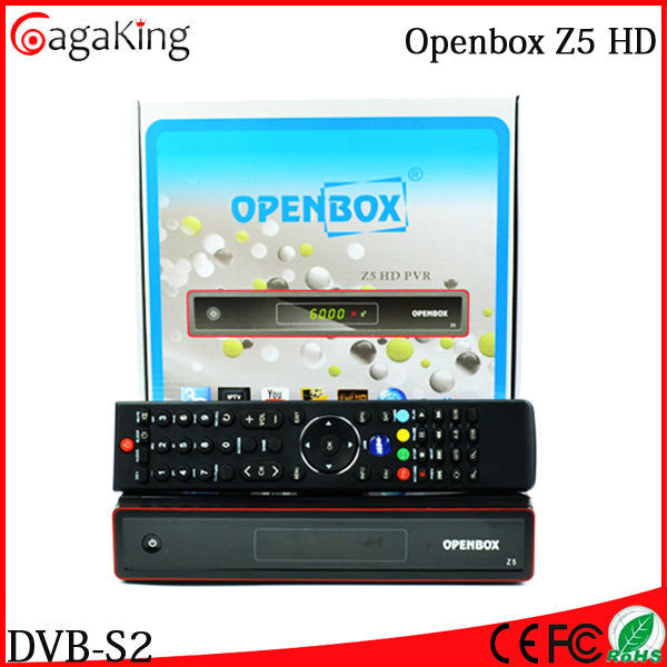Free shipping Original Openbox Z5 HD Satellite receiver software download Satellite tv receiver 1080p full hd receiver youtube(China (Mainland))