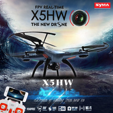 NEWest SYMA X5HW Drone WIFI FPV Camera Quadcopter with 2.4G 6-Axis FPV Drone VS X5C X5SW X6SW X8W JJRC H8D RC Helicopter Drone