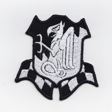 50%Embroidery GUNDAM ZEON SIDE-3 Military Tactical Morale Embroidery Patch Badges B2438