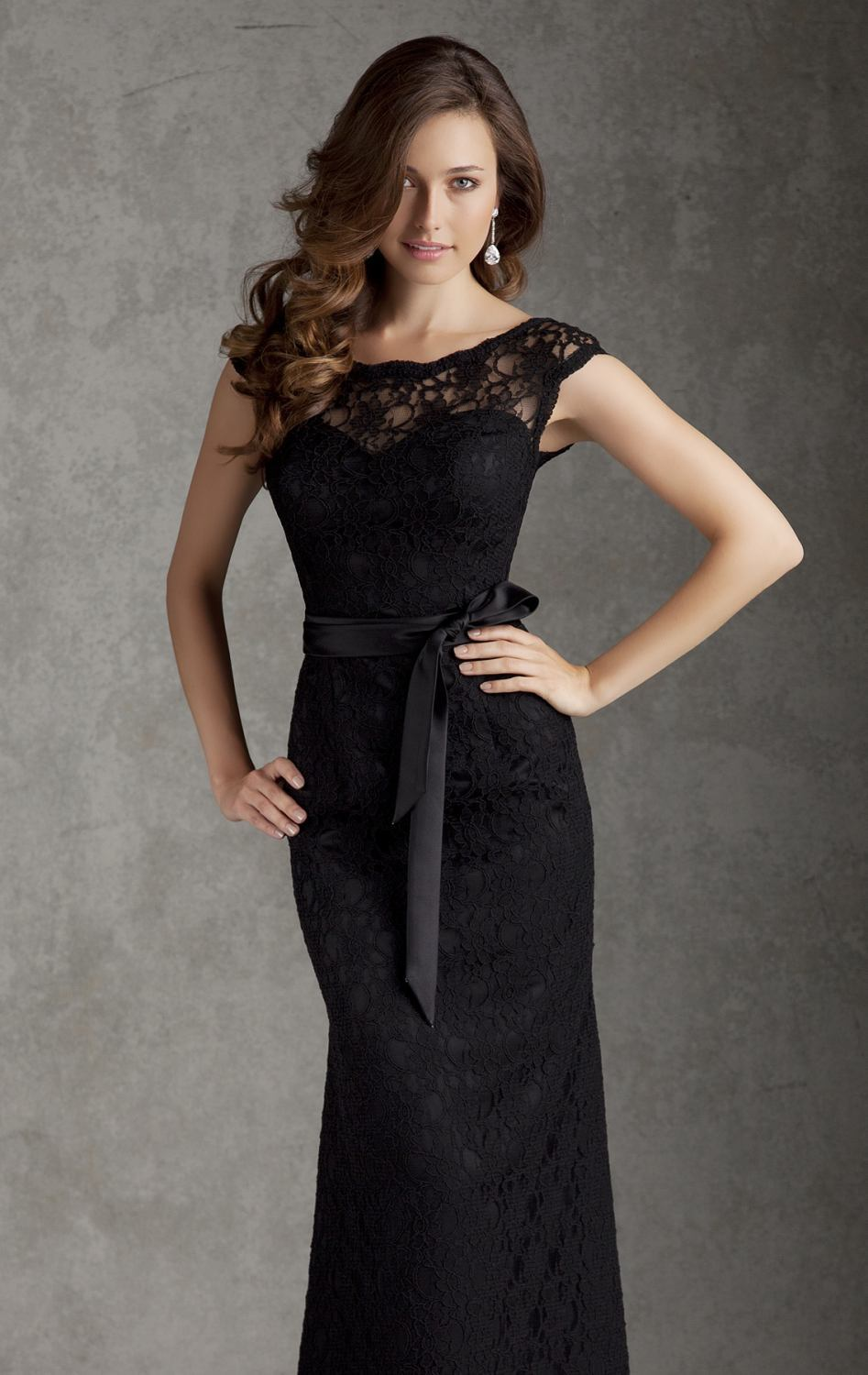 Pity, that Sexy black lace party dresses