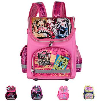Ортопедические дети школа сумки для девочка монстр высокая принцесса рюкзак дети ...