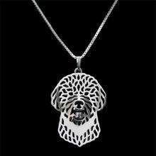 2016 Fashion Jewelry Dog Pendant Necklaces For Women Alloy Lagotto Romagnolo Necklaces Drop Shipping(China (Mainland))