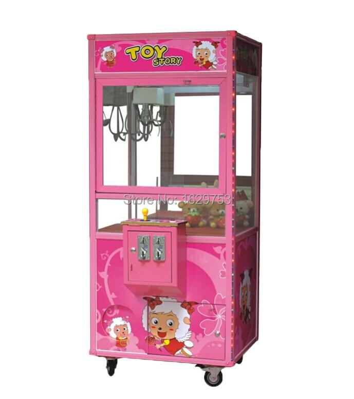 Toy crane arcade gifts machine(China (Mainland))