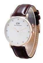 Nueva alta calidad caliente DW reloj moda Relojes hombres pu de cuero del cuarzo Daniel Wellington Relojes Relojes Masculino 40 mm y 36 mm