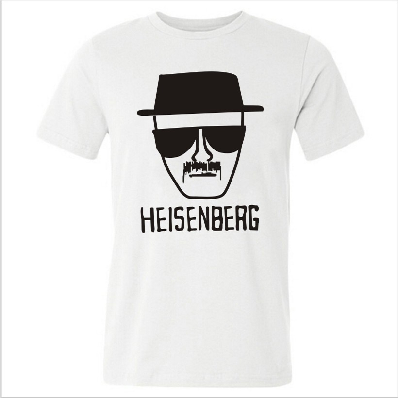 Asia Size Breaking Bad T Shirts Men Los Pollos Hermanos Shirt Man Walter White Cook Tops I Am The One Who Knocks Heisenberg Tees(China (Mainland))