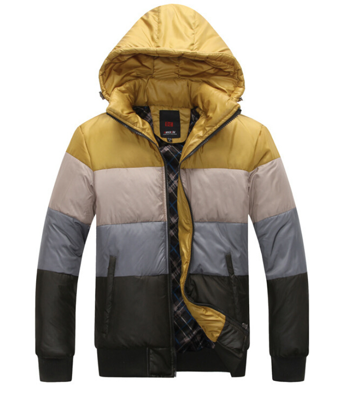 Winter Jacket Men Slim Thicken Parka Outdoor Warm Hooded Down Jacket Cotton Winter Coat Men Jaqueta