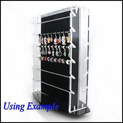 3pcs/lot New Europe Troll Charms Beads Jewelry Display Stand Case 120205(China (Mainland))