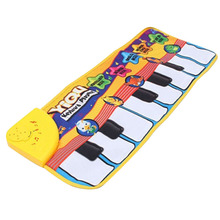NEW party gift hot Child necessaryTouch Play Keyboard Musical Music Singing Gym Carpet Mat Kids Baby Gift Tide(China (Mainland))
