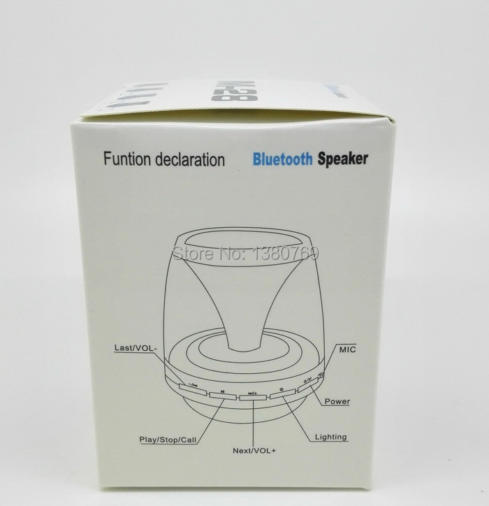 new launched products light bluetooth speaker Thanks hot sale clock radio usb shipping from shenzhen to Spain(China (Mainland))
