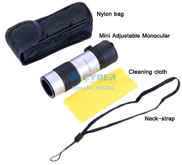 15x-55x Binoculars Mini Telescope Adjustable Monocular Zoom Pocket Scope Sports Outdoors Night Vision Hunting Concert#319405 - Shenzhen Cyber Technology Ltd. store