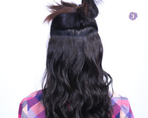 2015 New Arrival Clip-in The New Patch Type Seamless And Seamless, Brown Hair, More Convenient, Do Not Go To Barber Shop Dye.(China (Mainland))