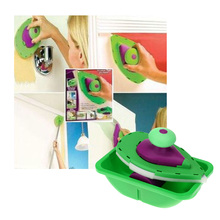 New Paint Roller and Tray Set Painting Brush Point N Paint Household Decorative Tool Easy to Operate(China (Mainland))