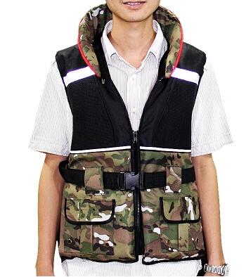Outdoor Life Vest water sport Life Jacket Professional Swimwear Swimming Upstream Drift life buoyance jacket inflat fishing vest(China (Mainland))