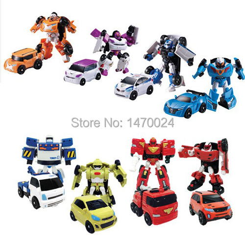 8 styles Young Toys Korea Cartoon Deformation Robot Tobot Brothers Anime Tobot Quartran Toys,Kids Toys Deformation Car Juguetes(China (Mainland))