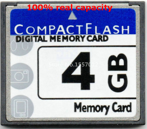 High Quality cheap OEM Compact Flash Card 4GB CF Memory CARD 4gb compactflash cards free shipping(China (Mainland))