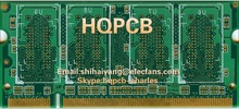 HQPCB HQEW 1 2 4 6 Layers PCB Prototype Manufacturing, Laser Stencil Making, Printed Circuit Boards Fabrication, Fast Production(China (Mainland))