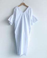 XITAO קוריאני נשים חזרה פי Midi שמלה בתוספת גודל מוצק צבע התלקחות שרוול V צוואר ליידי המפלגה ארוך שמלת הקיץ חדש Fshion HJF019(China)